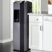 H2O-1000 hot/cold POU Water cooler with 3 stage carbon filtration+Alkaline booster